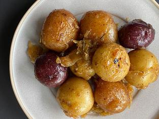 Patates grelots confites