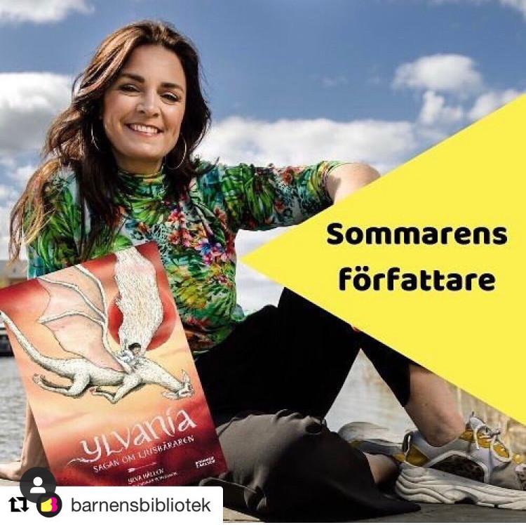 Så glad!!!utsedd till sommarens författare 2020 av Barnens bibliotek! Läs intervjun med mig :)