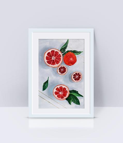 """""""Citrus Zinger"""" Print"""