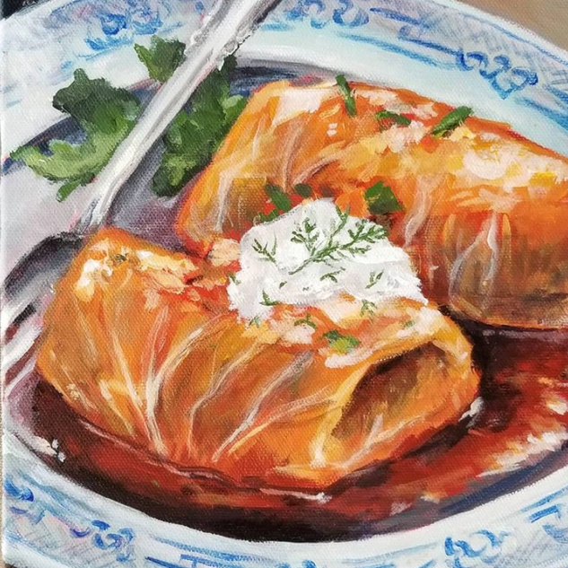 Cabbage Rolls - Golubtsi - 8x10