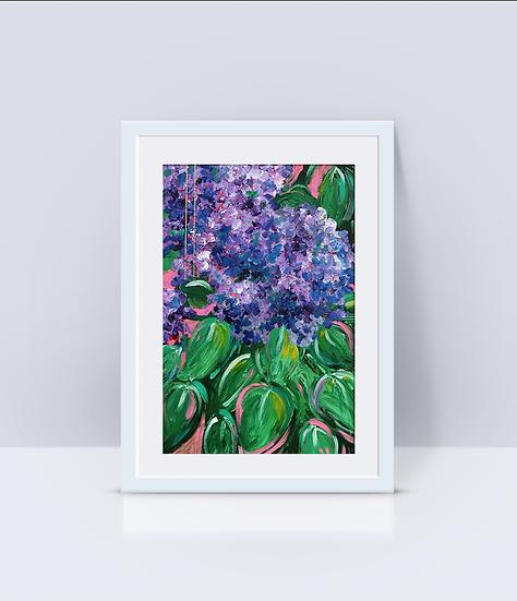 """""""Lilacs"""" Print"""