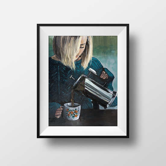 A French Press Antidote - Print