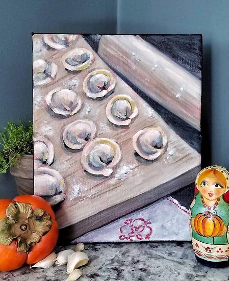 Pelmeni - Dumplings