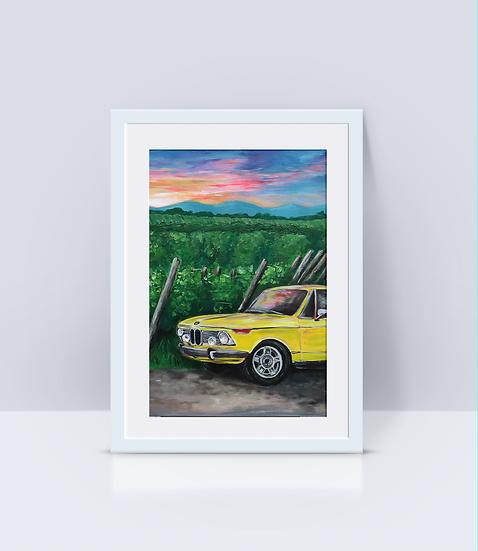 """BMW TII"" Print"