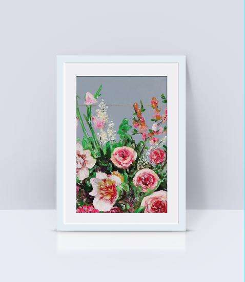 """Pretty Pinks"" Print"
