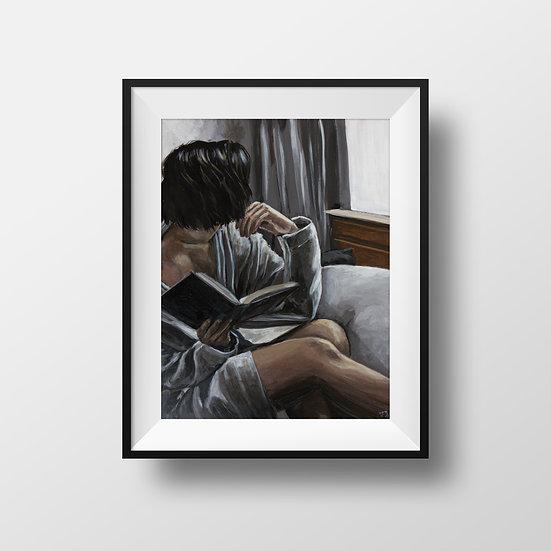 Silver Robe - Print