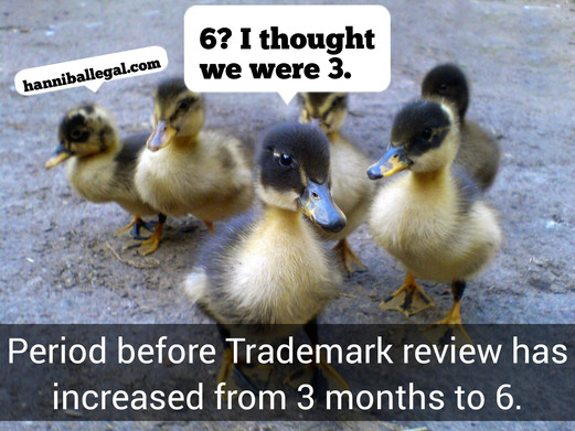 Processing Time for Trademark Applications Increases