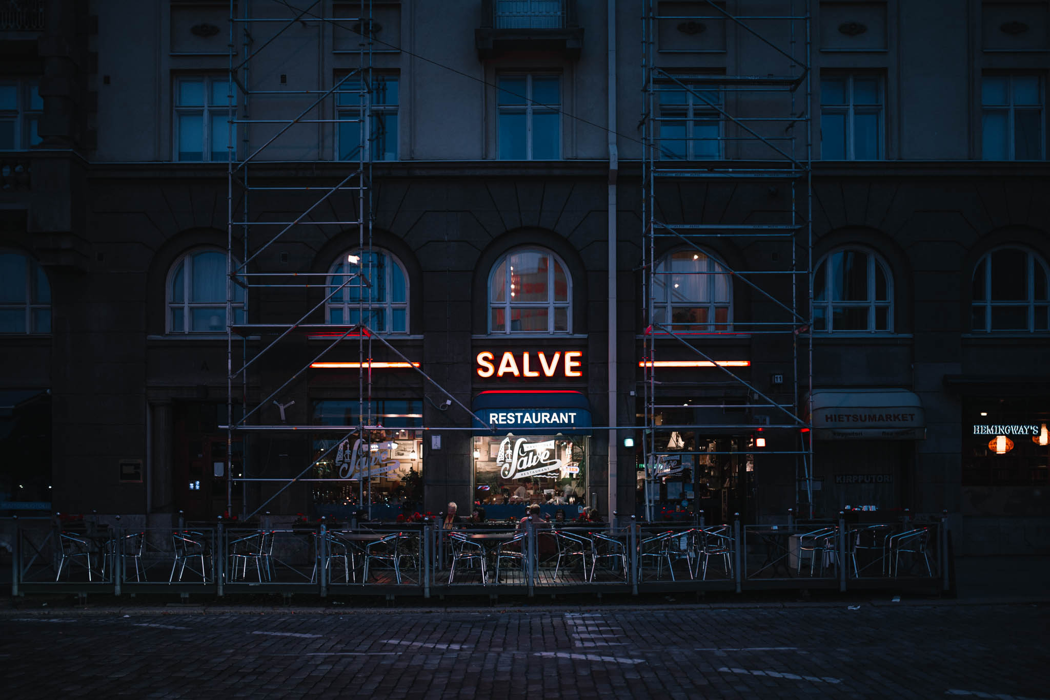 Restaurant Salve for Hok-Elanto