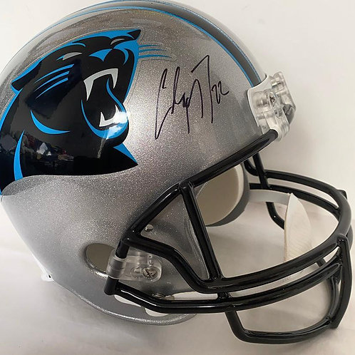 Christian McCaffrey - Carolina Panthers - Full Size Proline Helmet