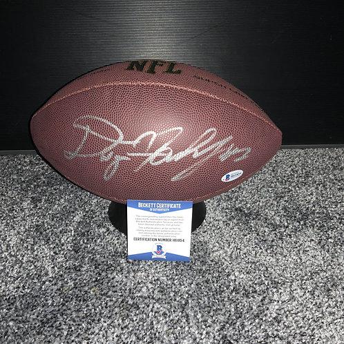 Dwayne Haskins - Washington - Signed Football