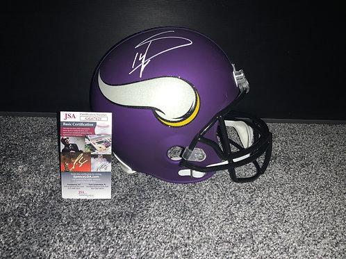Stefon Diggs - Minnesota Vikings Full Size Proline Helmet