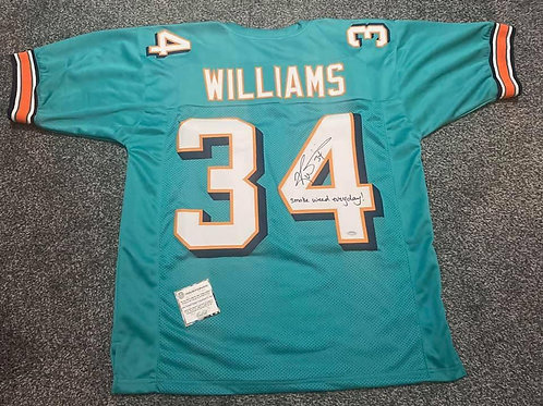 Ricky Williams - Miami Dolphins - Custom Jersey