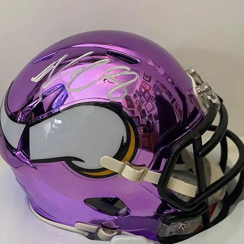 Kirk Cousins - Minnesota Vikings - Chrome Mini Helmet