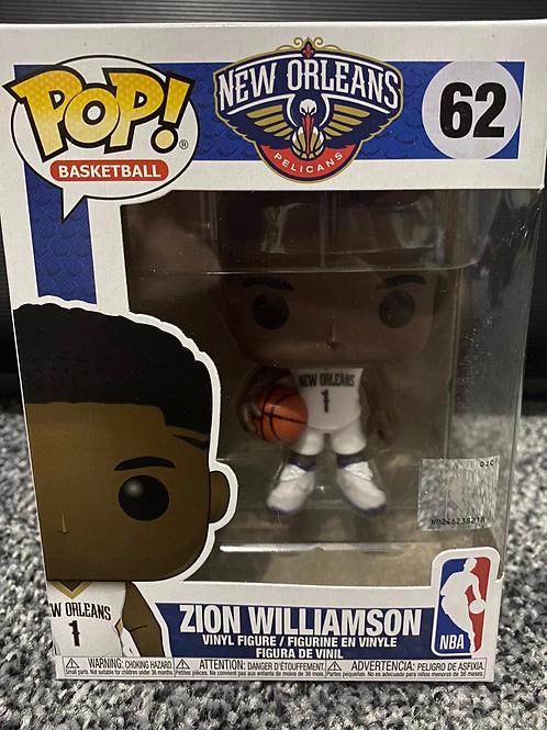 Zion Williamson - New Orleans Pelicans Funko Pop