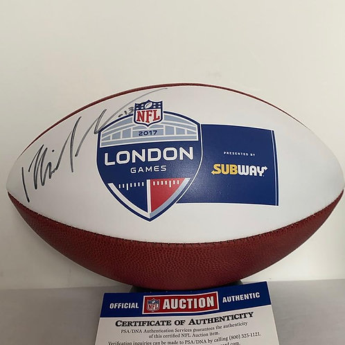 Michael Thomas - Signed London Games Authentic Football