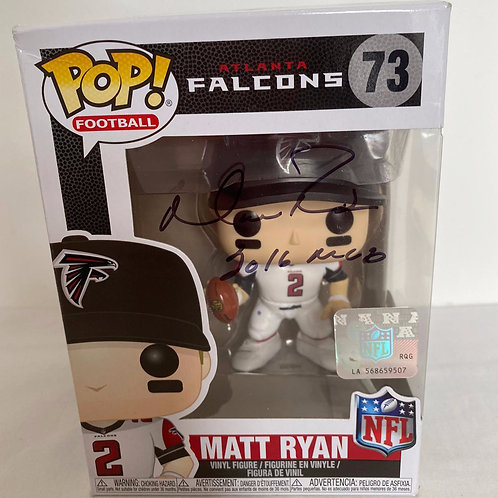 Matt Ryan - Atlanta Falcons - Singed Funko Pop