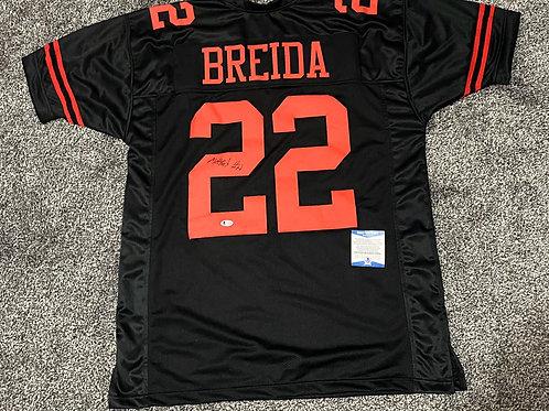 Matt Breida - San Francisco 49ers Custom Jersey