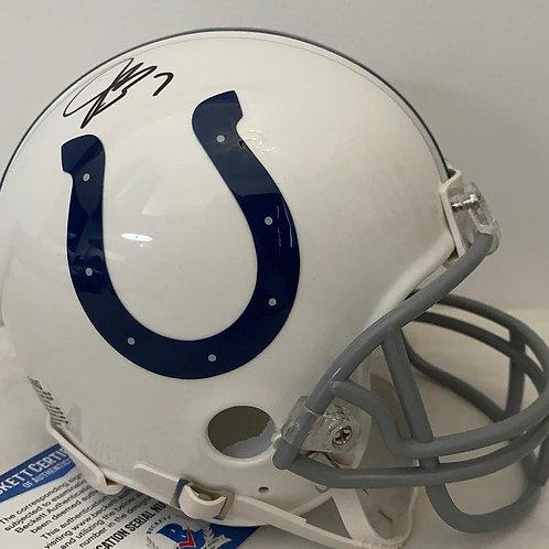 Jacoby Brissett - Indianapolis Colts - Mini Helmet