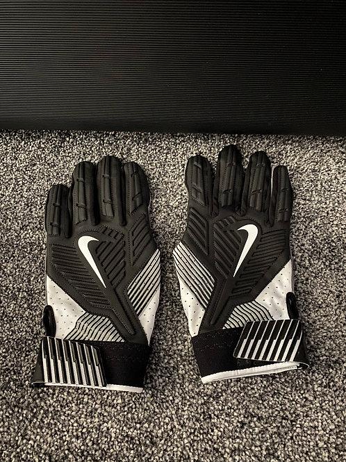 Black Nike Game Issued Gloves