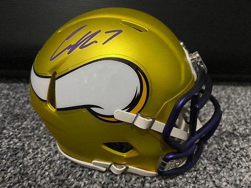 Case Keenum - Minnesota Vikings - Blaze Mini Helmet
