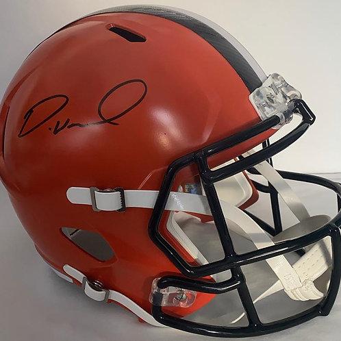 Denzel Ward - Cleveland Browns - Full Size Replica Helmet