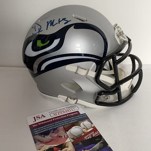 D.K Metcalf - Seattle Seahawks - AMP Mini Helmet