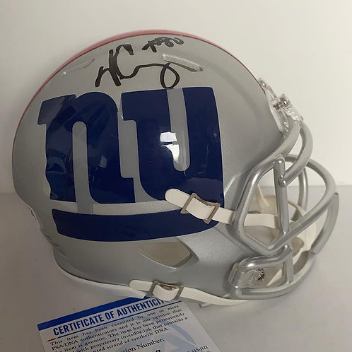 Victor Cruz - NewYork Giants - AMP Mini Helmet