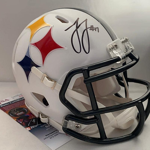 JuJu Smith-Schuster - Pittsburgh Steelers - AMP Mini Helmet