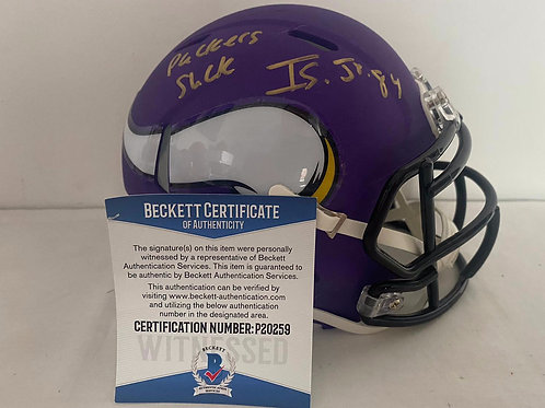 Irv Smith Jr - Minnesota Vikings - Mini Helmet