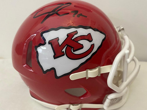 Chris Jones - Kansas City Chiefs - Mini Helmet