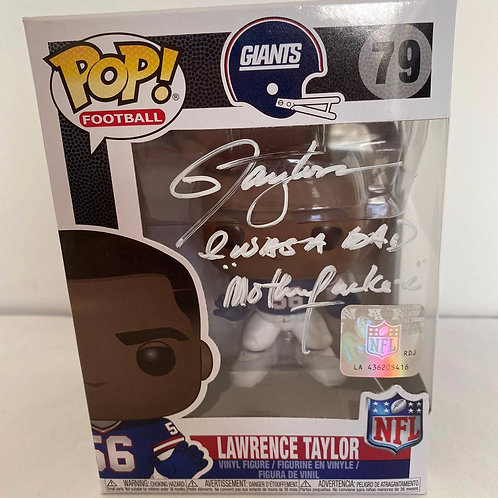 Lawrence Taylor - New York Giants - Signed Funko Pop