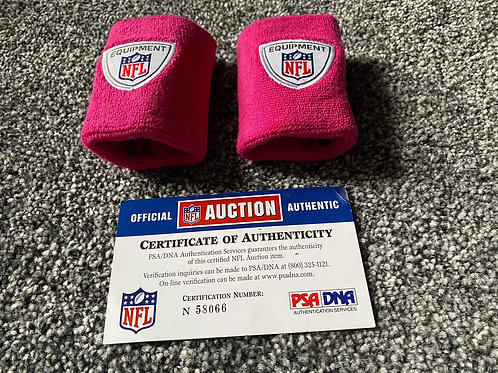 Maurice Jones-Drew Game Worn - Wristbands