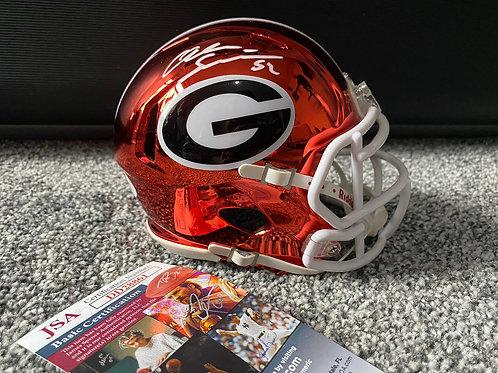 Alec Ogletree - Georgia Bulldogs - Mini Helmet