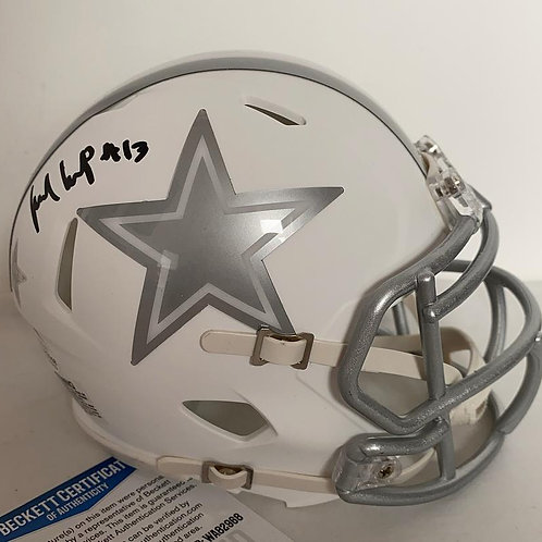Michael Gallup - Dallas Cowboys - Ice Mini Helmet
