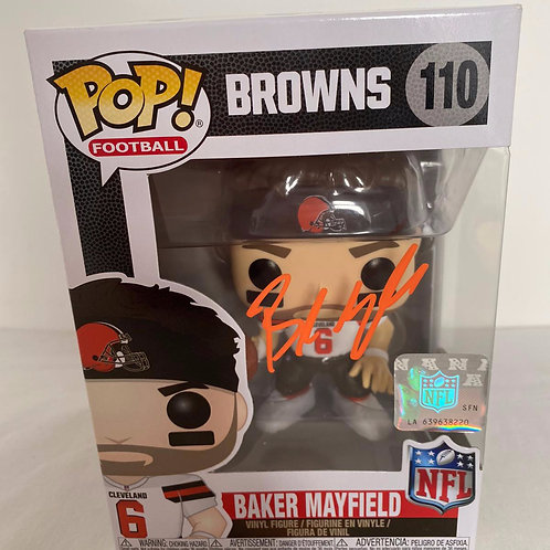 Baker Mayfield - Cleveland Browns - Singed Funko Pop