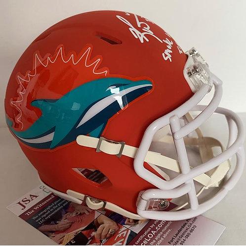 Ricky Williams -Miami Dolphins - AMP Mini Helmet