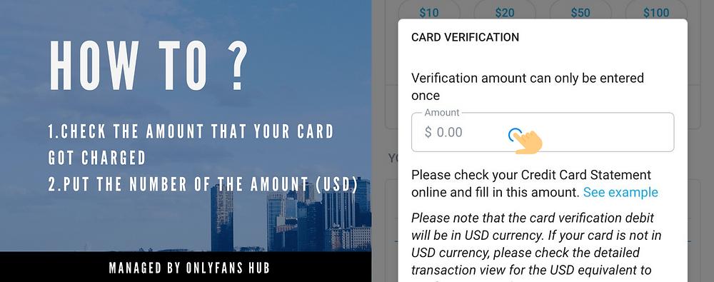 ขั้นตอนการสมัคร OnlyFans และผูกบัตรเครดิต ในฐานะผู้ติดตาม