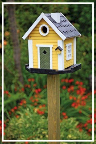 birdhouse flowers