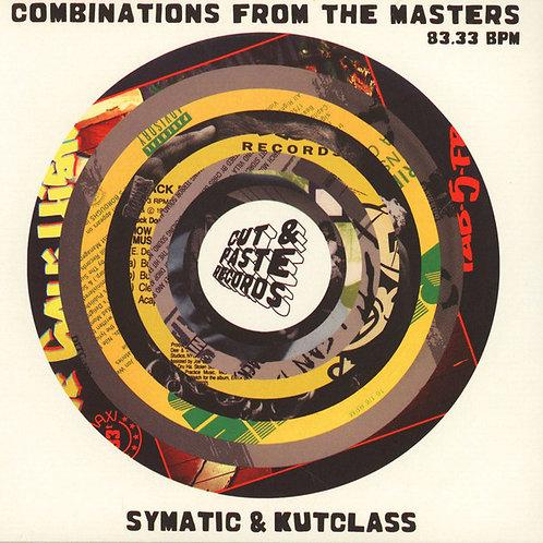 "Symatic, Darcy D & Kutclass - Combinations With Rhythm & Flow 7"""