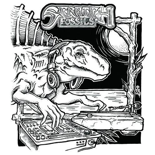 """Moschops - Scratch Fossils 7"""""""
