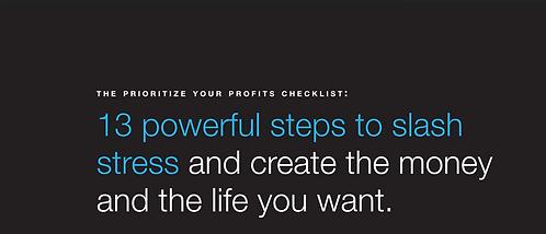 Prioritize Your Profits Checklist