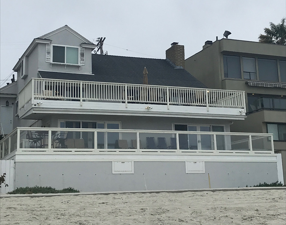 The Beach house my father rented