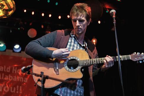 Guitarist Lake Trechsel live at Bottletree Cafe