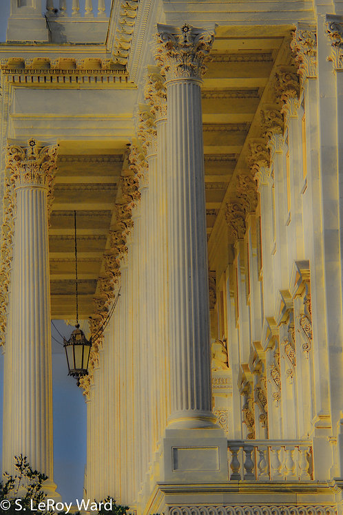 Capitol Building Portico