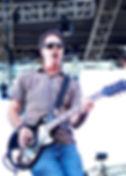 Guitarist Ben Trexel live onstage at Bayfest in Mobile, Alabama