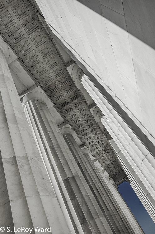 Columns VI - Lincoln Memorial