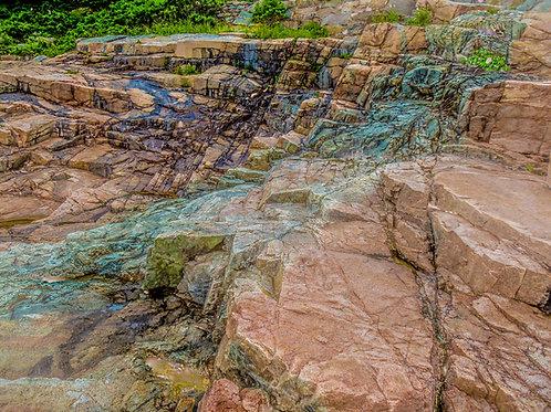Acadia Rock Slope