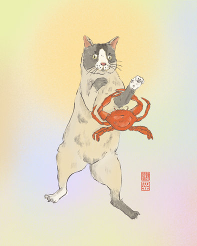 Crabby Cat