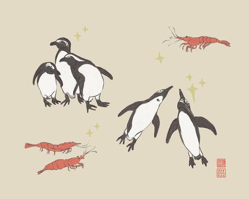 Shrimpy Penguins