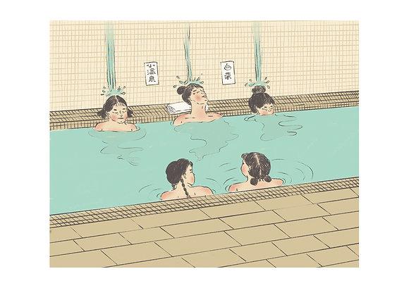 Hot Springs Print